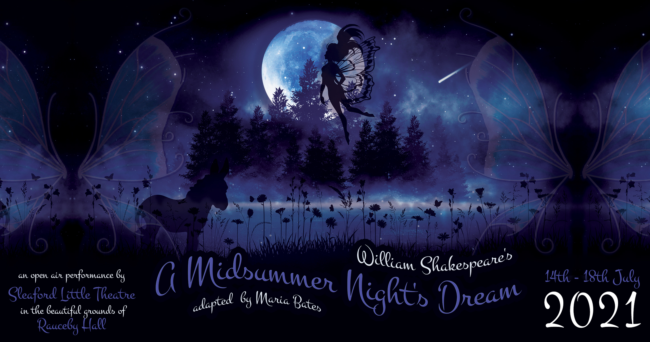 Outdoor production of A Midsummer Night's Dream planned for July 2021