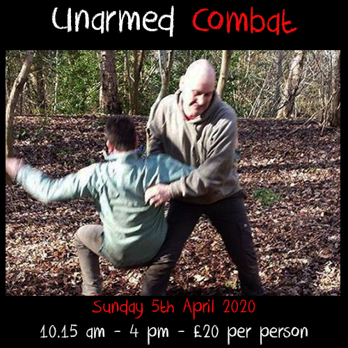 Unarmed Combat - Fight Workshop - Delivered by Dr Ian Stapleton