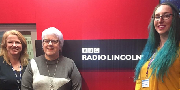 Sarah and Mary talk 'TWO' on BBC Radio Lincolnshire